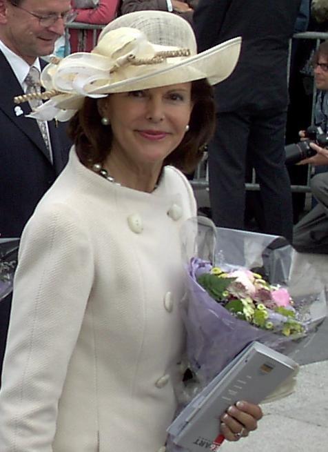Drottning Silvia i Oslo juni 2005