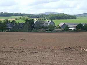 Dunecht - Dunecht viewed from the north