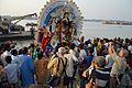 Durga Idol Immersion - Baja Kadamtala Ghat - Kolkata 2012-10-24 1733.JPG
