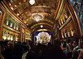 Durga Puja Pandal Interior - Falguni Sangha - Suren Tagore Road - Kolkata 2013-10-11 3364-3371.JPG