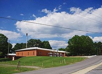 Dutton, Alabama - Dutton Town Hall and Fire Department