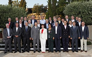 Foreign relations of Cyprus - Foreign Ministers of the European Union countries in Limassol during Cyprus Presidency of the EU in 2012
