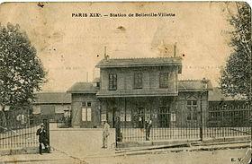 Image illustrative de l'article Gare de Belleville-Villette