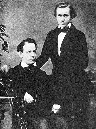 Ede Reményi - Image: E Remenyi and J Brahms