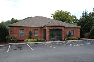 East Ellijay, Georgia city hall.JPG