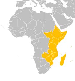 östra afrika karta Östafrika – Wikipedia östra afrika karta