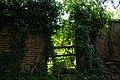 Easton Lodge Gardens, Little Easton, Essex, England private garden wall.jpg