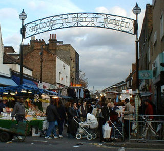 Market in Walworth, South London