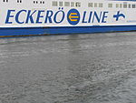 Eckeroe Line Name and Logo Nordlandia 14 July 2012 Tallinn.JPG