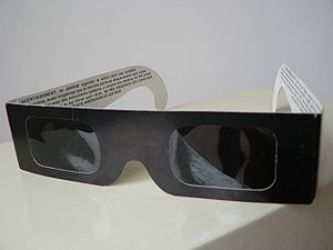 Eclipse viewing glasses can be used to observe...