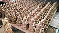 Eco Friendly Ganpati Idols on display at a road-side shop before Ganesh Chaturthi.jpg