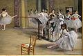 Edgar degas, il foyer della danza all'opéra di rue le peletier, 1872, 02.JPG
