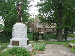 Edgewood Borough Building and Statue.jpg