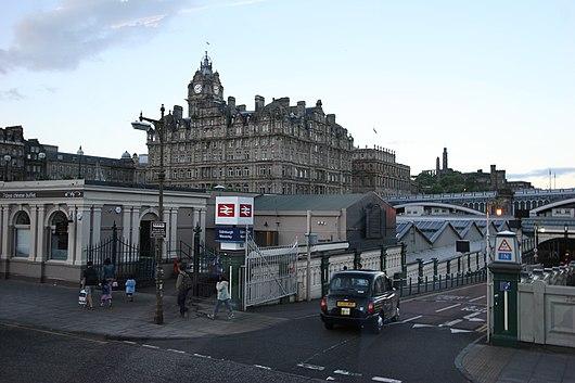 Hotel Edinburgh Waverley Station