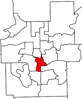 Edmonton-Strathcona (provincial electoral district) - Image: Edmonton Strathcona in Edmonton