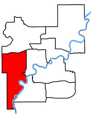 Edmonton West - Image: Edmonton West 2013 Riding