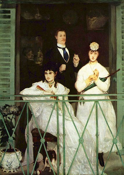 Edouard Manet, The Balcony 1868 - Wikipedia
