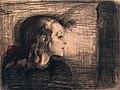 Edvard Munch. The Sick Child I (Det syke barn I). 1896 — Lithograph (25075586795).jpg