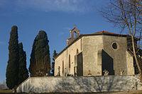 Eglise Arvigna façade fortifiée.jpg