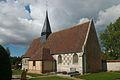 Eglise de Champ-Dolent, vue du sud ouest.jpg