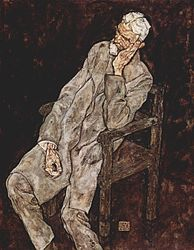 Egon Schiele: Portrait of Johann Harms