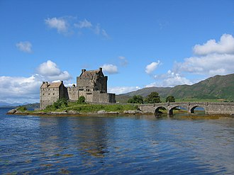 Highlander (film) - Eilean Donan Castle was one of the film's locations.