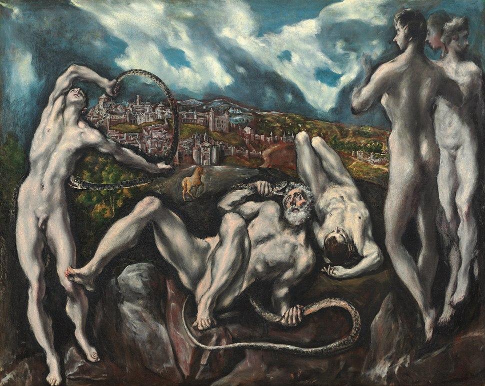 El Greco (Domenikos Theotokopoulos) - Laocoön - Google Art Project