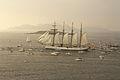 El buque escuela Juan Sebastián Elcano partiendo de la Bahía de Bayona-15.jpg