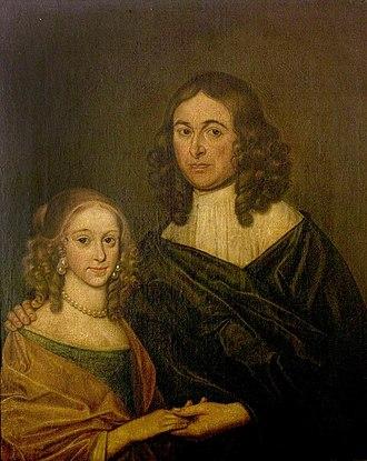 Elizabeth Barnard - Elizabeth and her first husband Thomas Nash