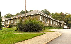 National Register of Historic Places listings in Avery County, North Carolina - Image: Elk Park Elementary School nc 1