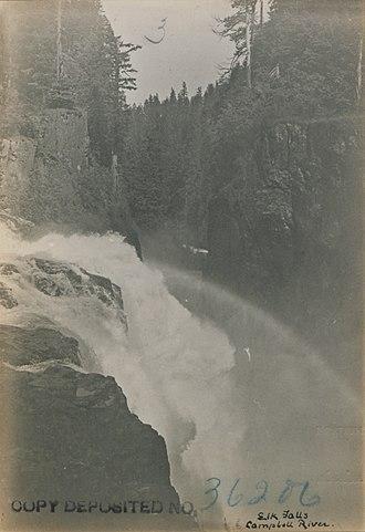 Campbell River (Vancouver Island) - Elk Falls, Campbell River
