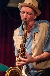 Ellery Eskelin American tenor saxophonist