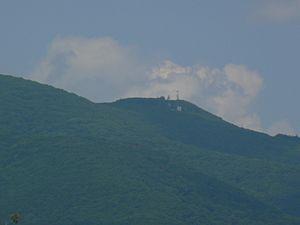 Elliott Knob - Image: Elliott Knob radio towers