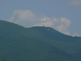 Elliott Knob - Image: Elliott Knob radio towers