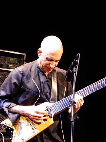 English: Elliott Sharp live at Saalfelden 2009...