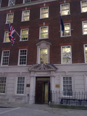 Representative of the European Union, London - Image: Embassy of EU in London 1