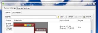 Compiz - Emerald themer 0.9.5 with trueglass 0.5 frame engine