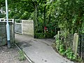 Emerging from the Trans Pennine Trail onto Roughbirchworth Lane in Oxspring - geograph.org.uk - 929485.jpg