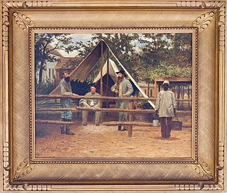 Julian Scott - Image: Encampment VA