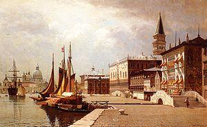 John Joseph Enneking - Venice at Midday