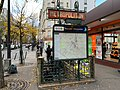 Entrée Station Métro Marcadet Poissonniers Paris 8.jpg