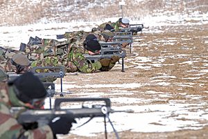 Headquarters Rapid Reaction Corps – France - Shooting exercise
