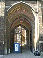 Entrance gate to St Alban the Martyr Church, Brooke Street EC1 - geograph.org.uk - 1393712.jpg
