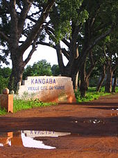 Entrance to Kangaba