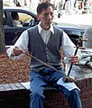 Erhu player at Harvard Square, Cambridge, Massachusetts by Dan4th.jpg