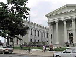 Erie Countys domstolhus.