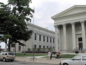 Erie County, Pennsylvania - Image: Erie Cty Courthouse Erie PA