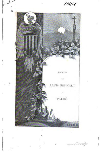 File:Escrits de Lluis Espinalt y Padró (1895).djvu