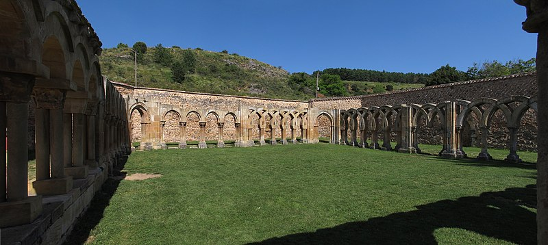 File:España - Soria - San Juan de Duero - Cloister.jpg