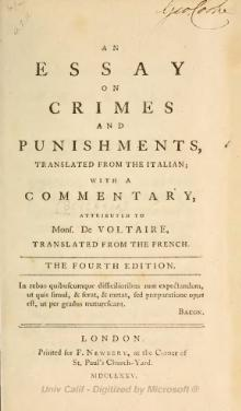 Essay on Crimes and Punishments (1775).djvu